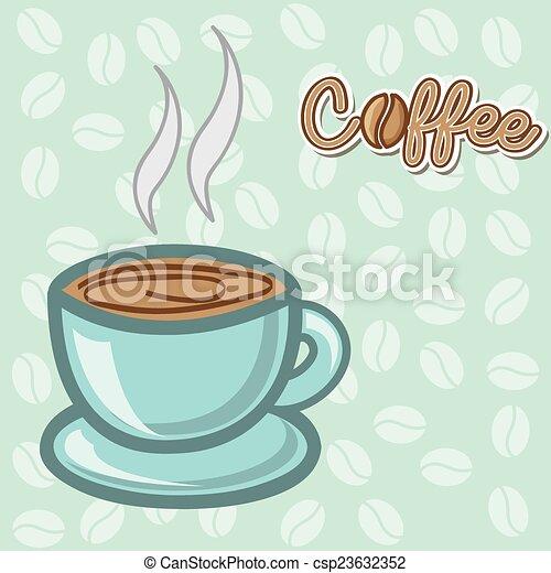 coffee design  - csp23632352
