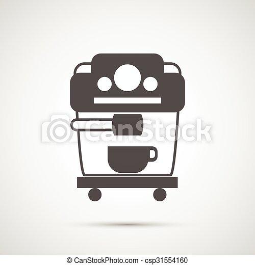 Coffee design.  Coffeemaker icon - csp31554160