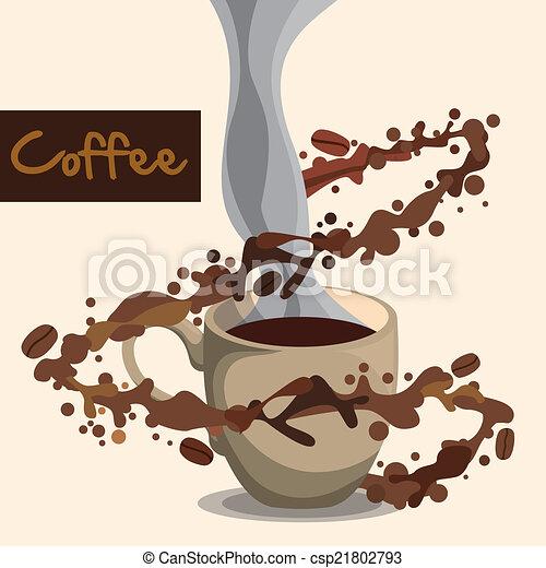 coffee design - csp21802793