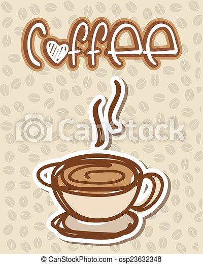 coffee design  - csp23632348