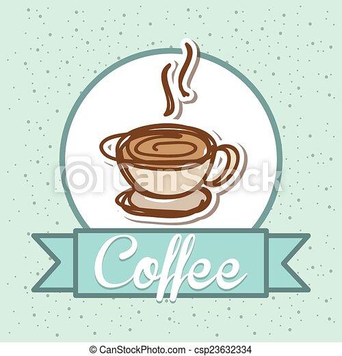 coffee design  - csp23632334