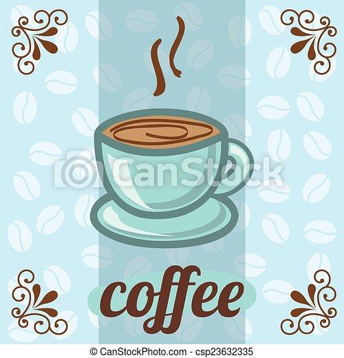 coffee design  - csp23632335