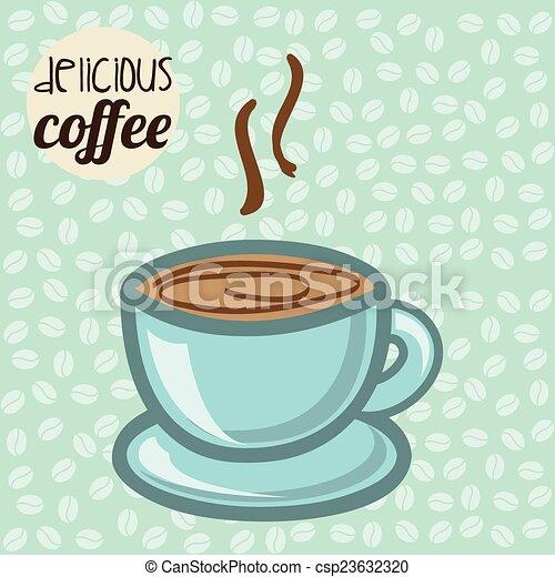 coffee design  - csp23632320