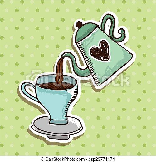 coffee design  - csp23771174