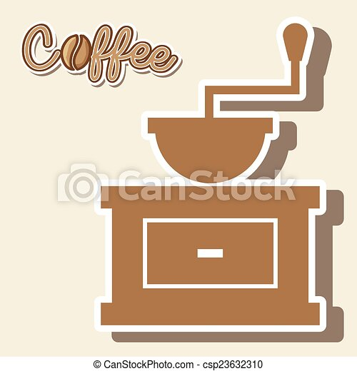 coffee design  - csp23632310
