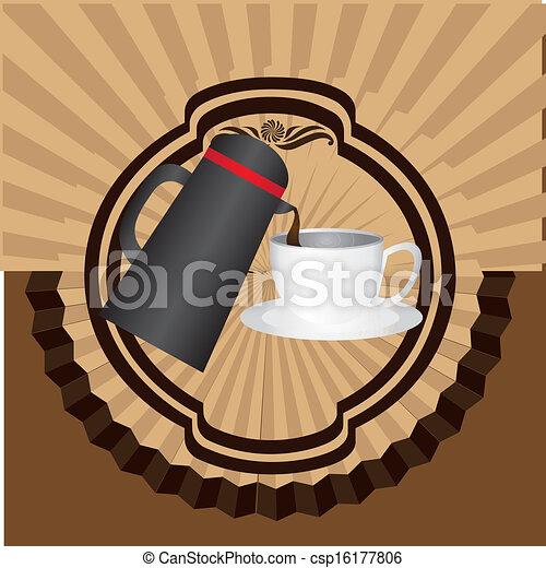 coffee design - csp16177806
