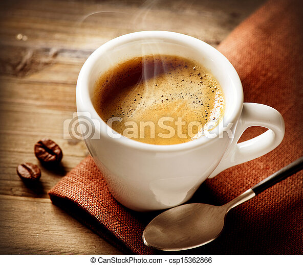 Coffee Espresso. Cup Of Coffee  - csp15362866