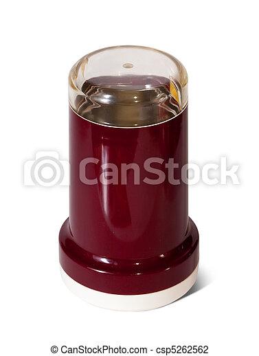 coffee-grinder on white background - csp5262562