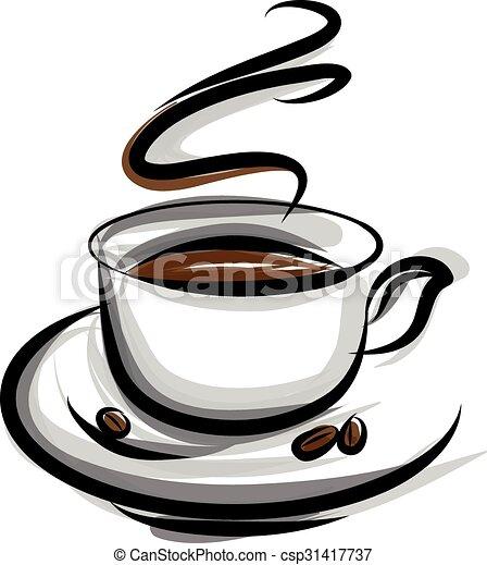 coffee illustration  - csp31417737