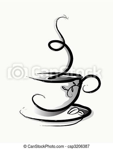 Coffee - csp3206387