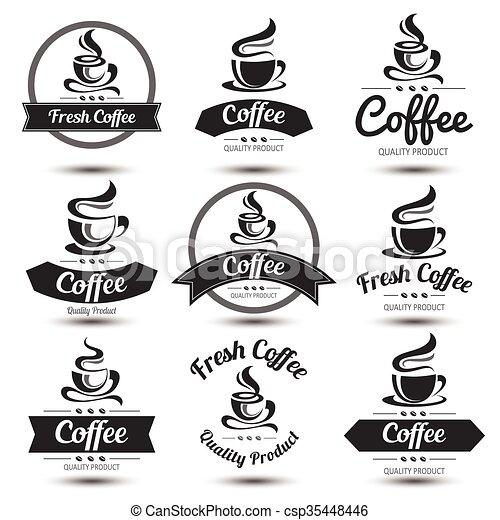 Coffee label - csp35448446