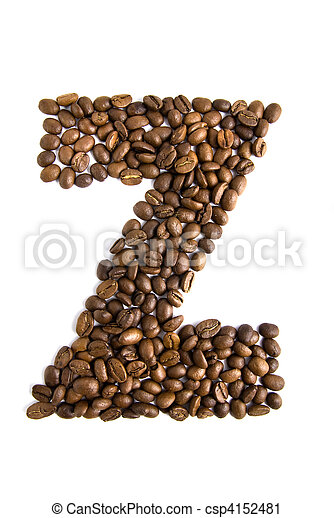 coffee letter Z - csp4152481