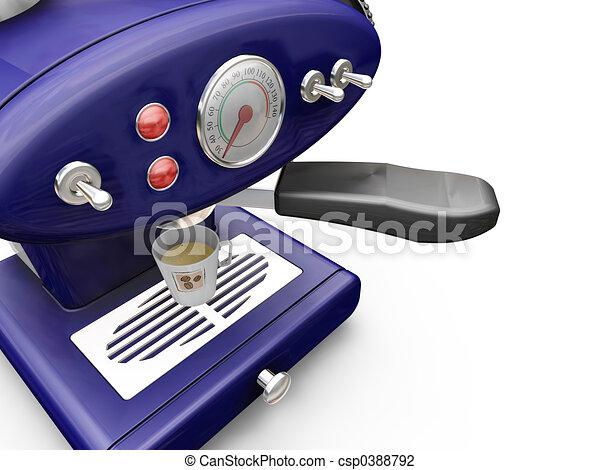 Coffee machine - csp0388792