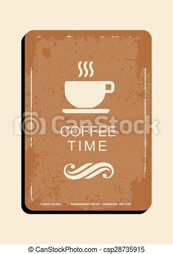 Coffee Menu Template Elegant And Simple Design