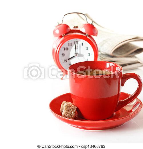 coffee., morgen - csp13468763