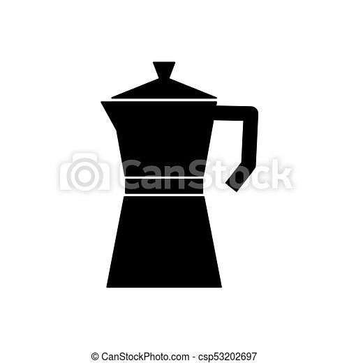 Coffee Percolator Maker Moka Icon