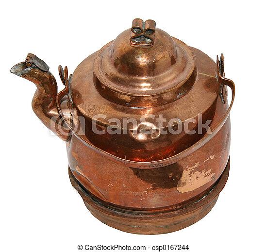 Coffee pot, old type - csp0167244