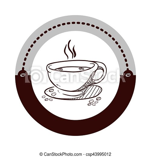 coffee related icons image - csp43995012