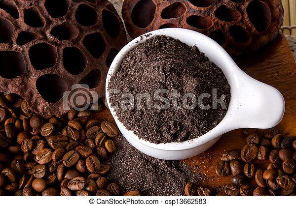 Coffee Scrub - csp13662583