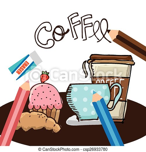 coffee shop design vector illustration eps10 graphic vector rh canstockphoto co uk