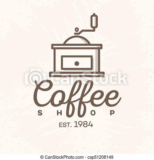 Cafe Logo Design Vector Free Download