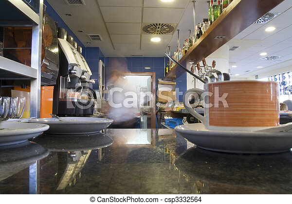 coffee shop - csp3332564