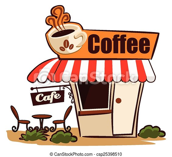 coffee shop rh canstockphoto com cafe clipart wooden spoons café clipart