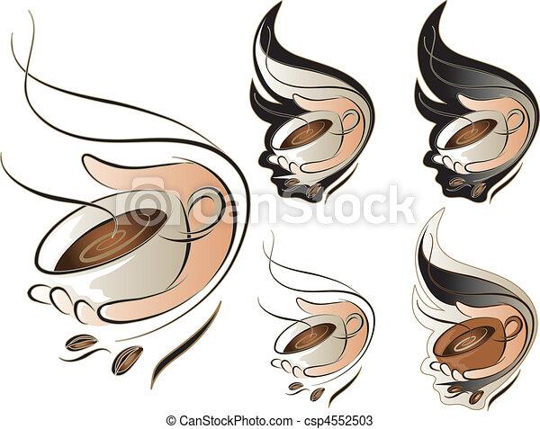 Coffee sign set - csp4552503