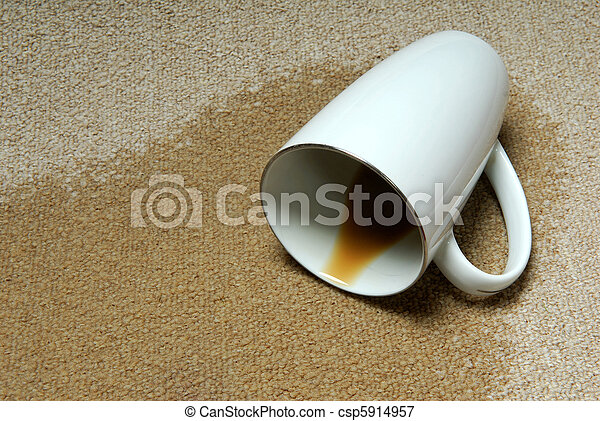 Coffee Stain Carpet. - csp5914957