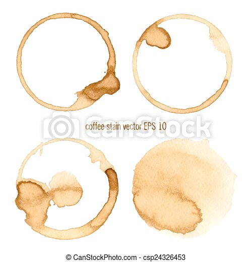 Coffee Stain - csp24326453