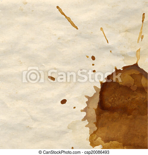 Coffee Stain - csp20086493