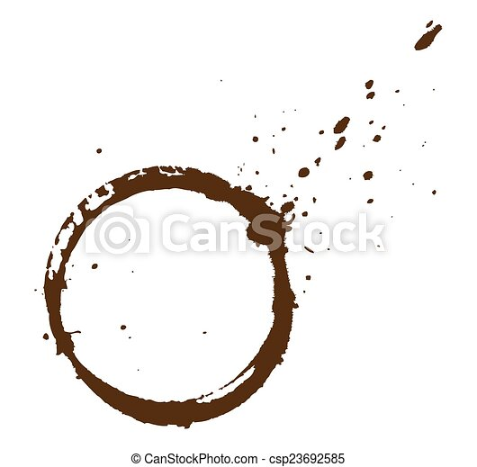 Coffee Stain - csp23692585