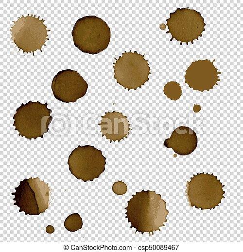 Coffee Stain Set - csp50089467