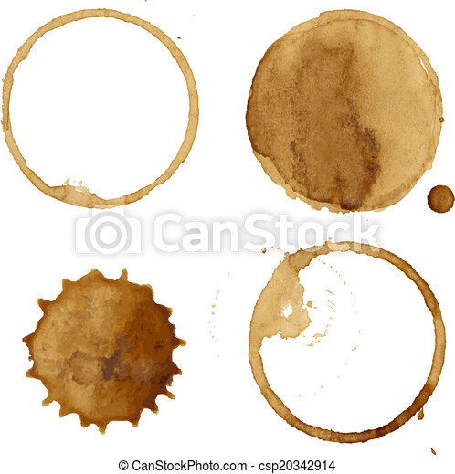Coffee Stains Collection - csp20342914