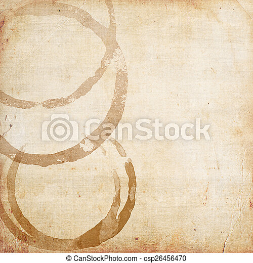 coffee stains - csp26456470