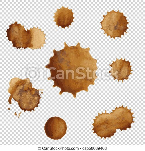 Coffee Stains Set - csp50089468