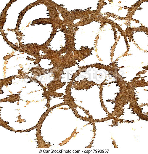 Coffee stains - csp47990957