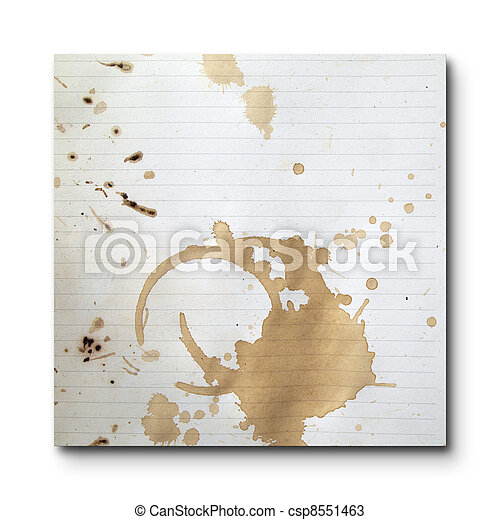 Coffee stains - csp8551463