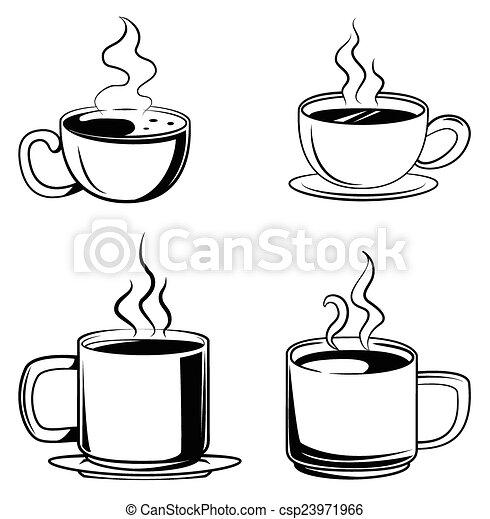 Coffee Symbol Set Collection - csp23971966