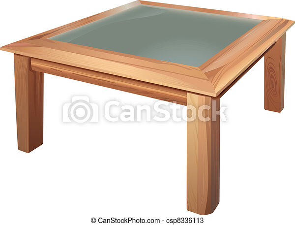 coffee table drawing. Interesting Table Coffee Table  Csp8336113 Intended Coffee Table Drawing W