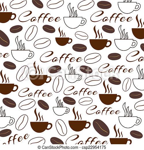 Coffee Texture - csp22954175