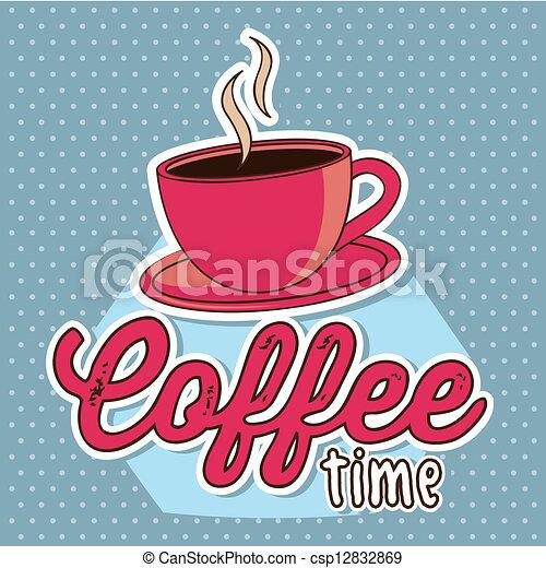 coffee vector - csp12832869