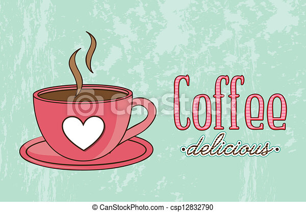 coffee vector - csp12832790