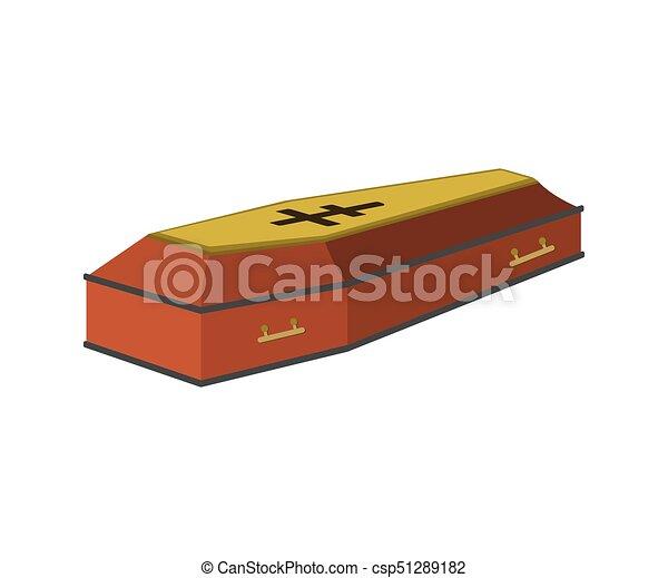 coffin cartoon icon isolated vector illustration coffin cartoon rh canstockphoto com cartoon coffin clipart cartoon coffin shape
