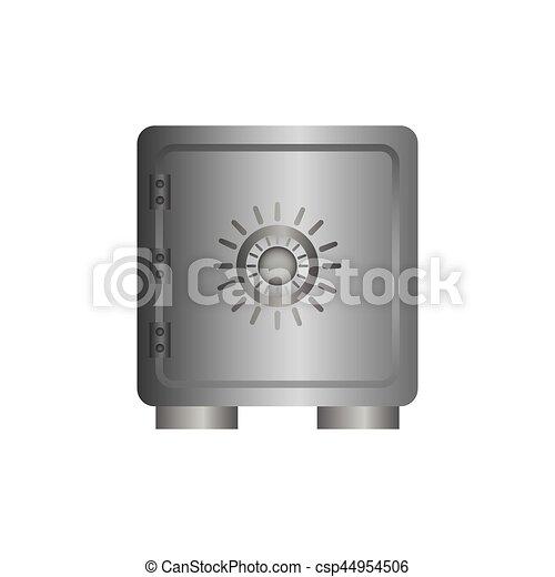 coffre-fort, sécurité, argent - csp44954506