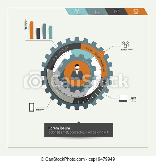 Cog wheel diagram cog wheel diagram for business template eps cog wheel diagram csp19479949 ccuart Images