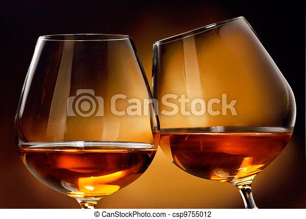 Cognac or Brandy - csp9755012