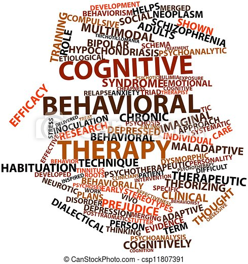 Cognitive behavioral therapy - csp11807391