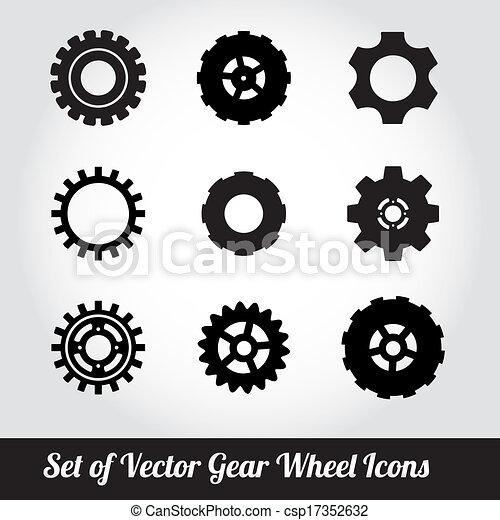 Cogs / gears vector - csp17352632