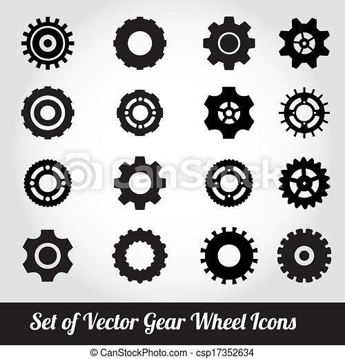 Cogs / gears vector - csp17352634